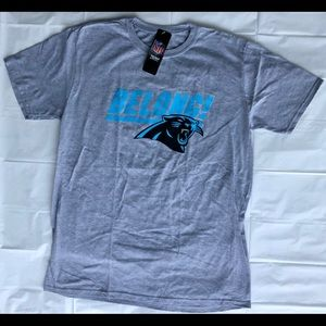 Carolina Panthers Gray Shirt Men's XL